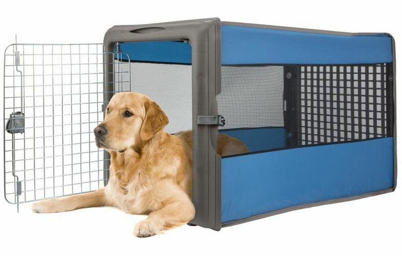 Large Dog Crate Kennel Travel Soft Cage Big Portable