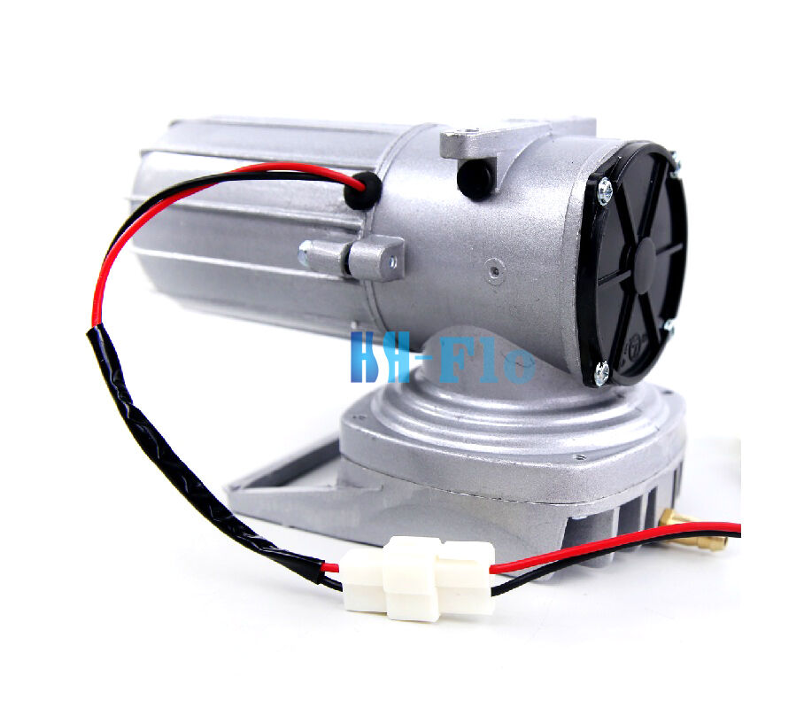 Hsh flo dc 12v elemental o2 air pump aquarium pond for Hydroponic air pump