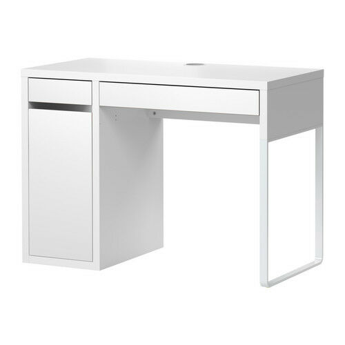 new ikea micke desk table white modern office ebay. Black Bedroom Furniture Sets. Home Design Ideas