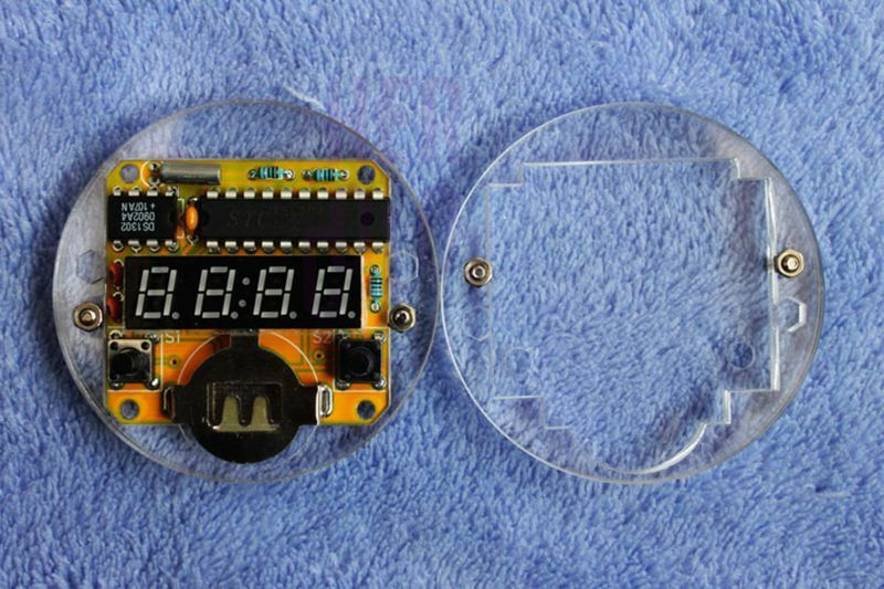 BUILD A LED WATCH PROJECT 70s 1970s Vintage Retro Digital ...