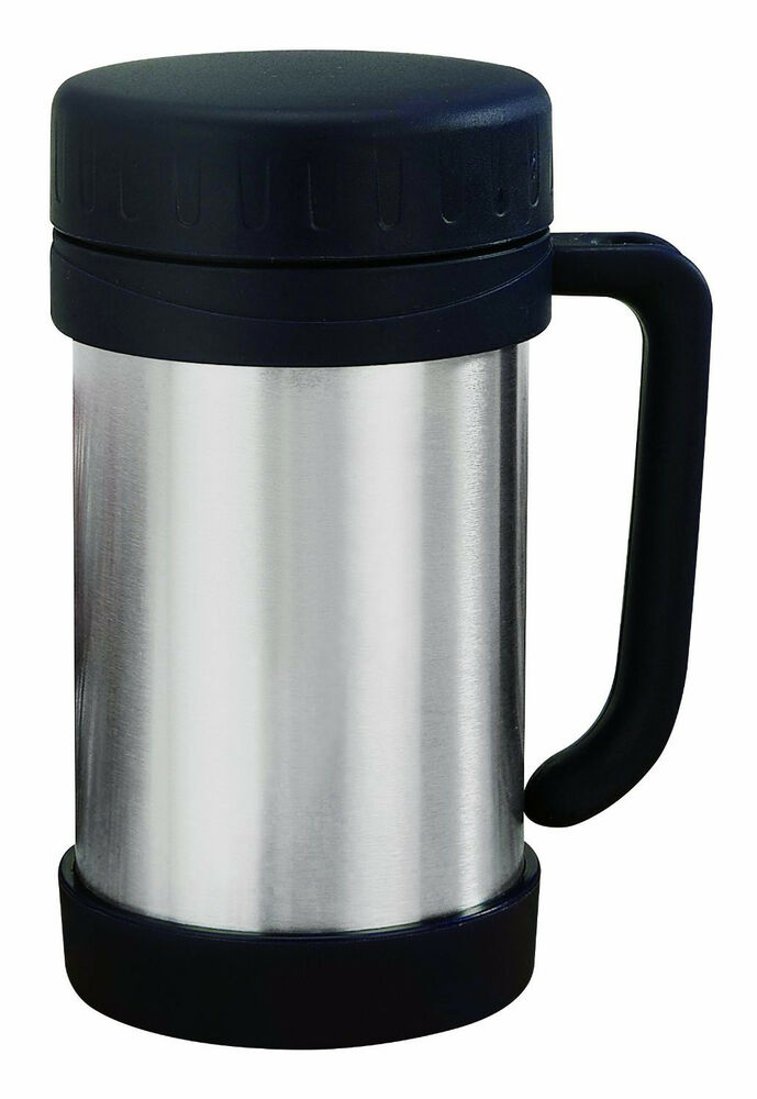 16oz Stainless Steel Soup Thermos Insulated Vacuum Food