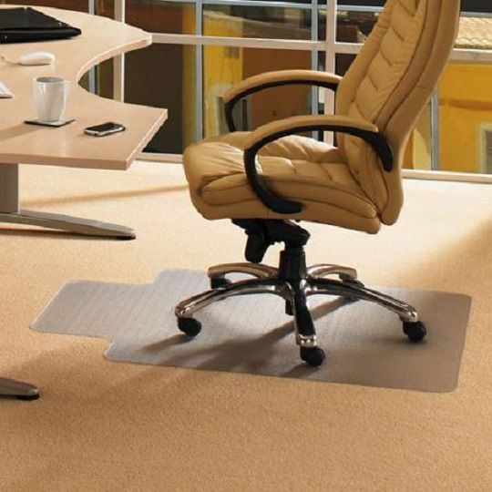 Office Chair Carpet Floor Mat Desk Computer Plastic Heavy Duty Clear Durable