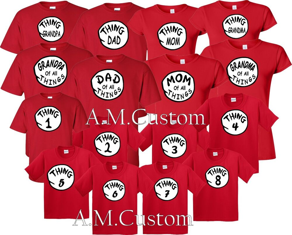 45f60fd7 one thing Two Mom Dad family 1 2 3 .matching funny cute T Shirts