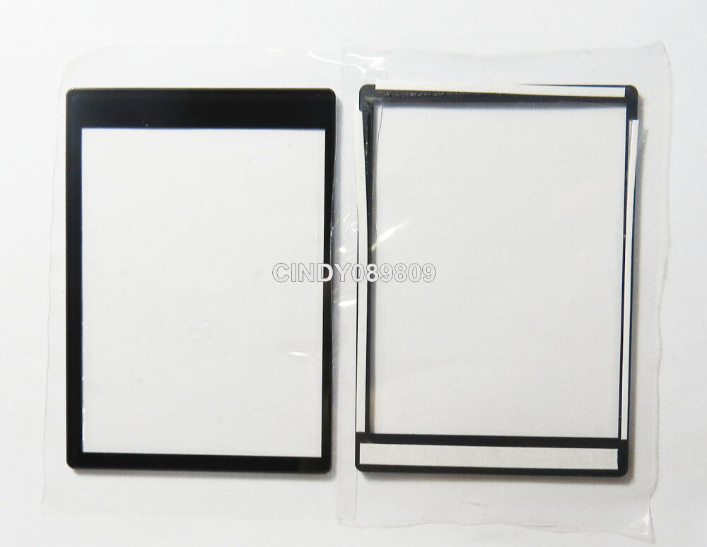 New outer lcd screen display window glass part for nikon for Screen new window
