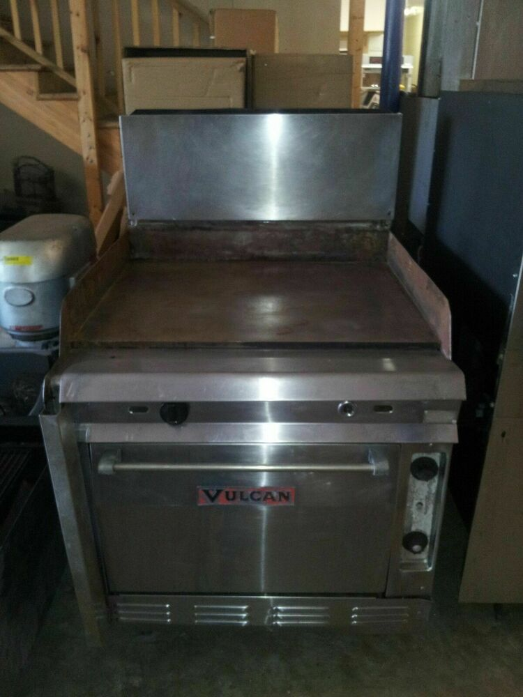 Vulcan 34 7860a Griddle Top Gas Range With Standard Oven