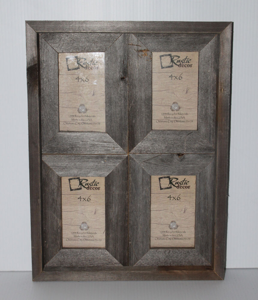 how to make rustic picture frames