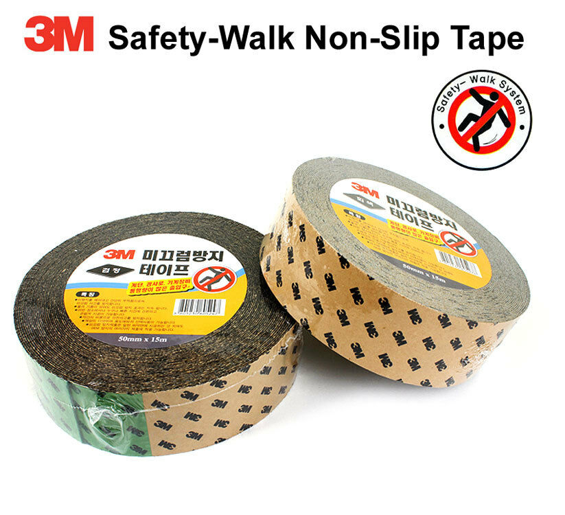 3m Safety Walk Anti Skid Non Slip Adhesive Resistant Tapes