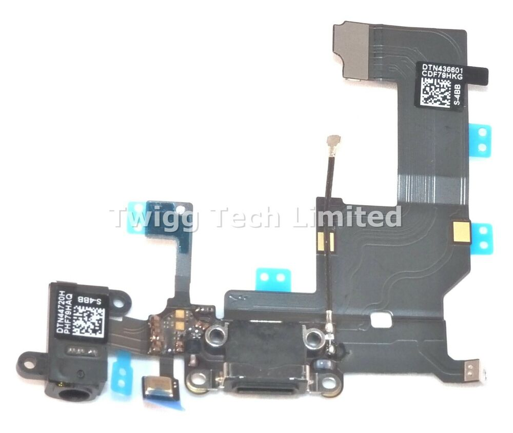 iphone 5 charging port for iphone 5 best quality black charging port charger 3423