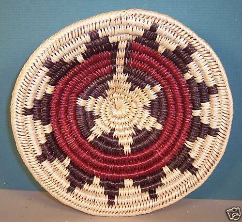Native American Wedding Gifts: Navajo Coiled Ceremonial Wedding Basket By Mary Stanley