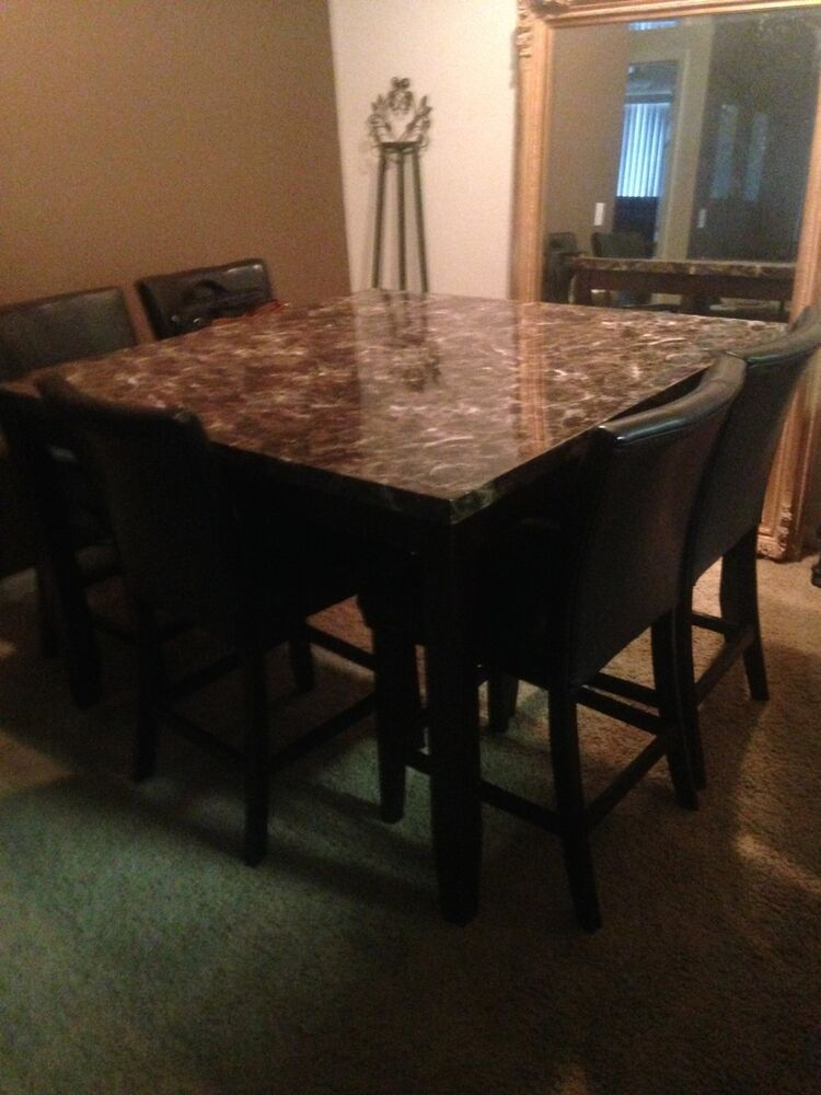 High top kitchen table ebay for High top kitchen tables