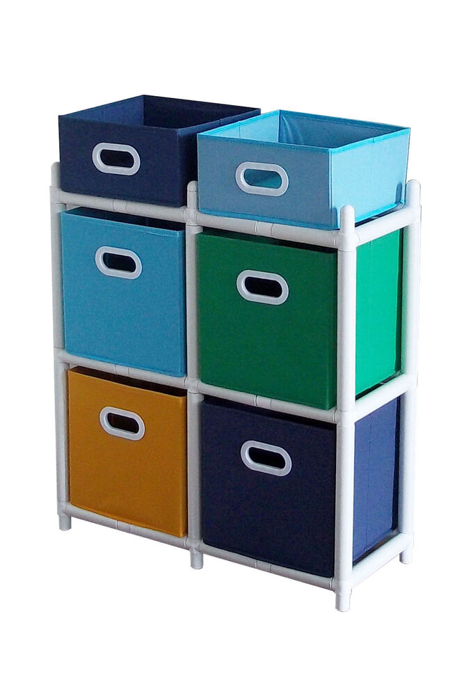 Toy Organizer Kids Storage Bin Children Box Playroom Furniture Shelf Toy Closet Ebay