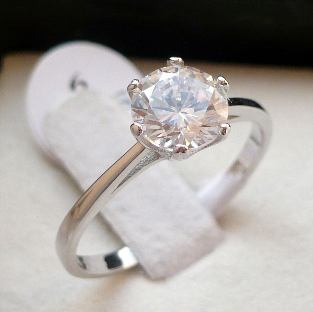 925 sterling silver s cz engagement promise ring