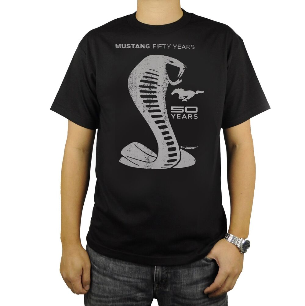 Ford Mustang Shelby Cobra 50 Years Anniversary T Shirt