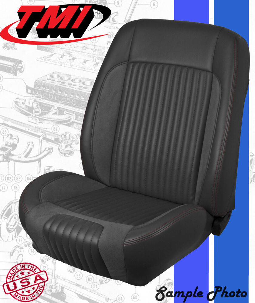 1968 Ford Truck >> 1968 1969 Ford Mustang Sport R Seat Covers Kit by TMI Products (Full Set) | eBay