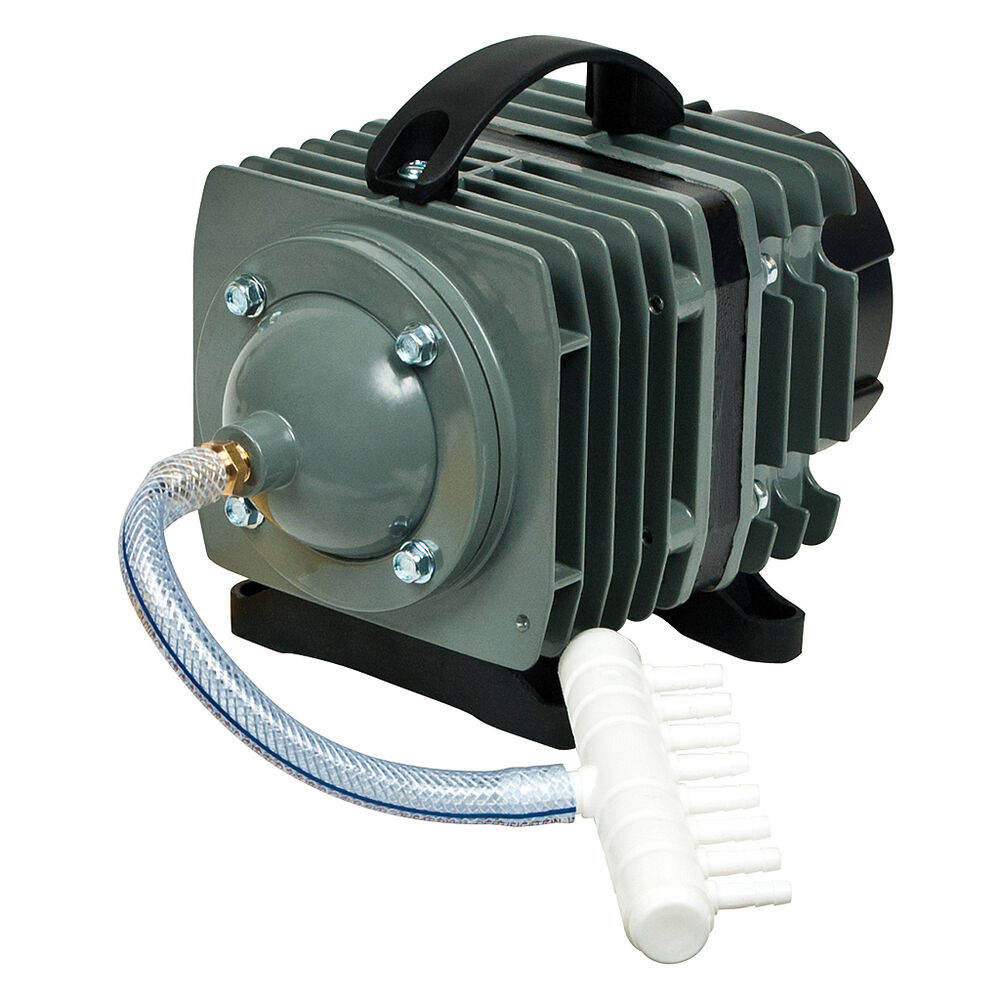 Elemental o2 commercial air pump 1268 gph aquarium pond for Hydroponic air pump