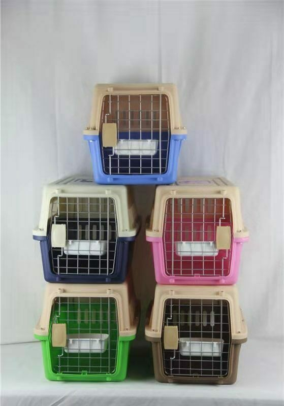 Airline Approved Dog Cat Portable Tote Crate Pet Carrier