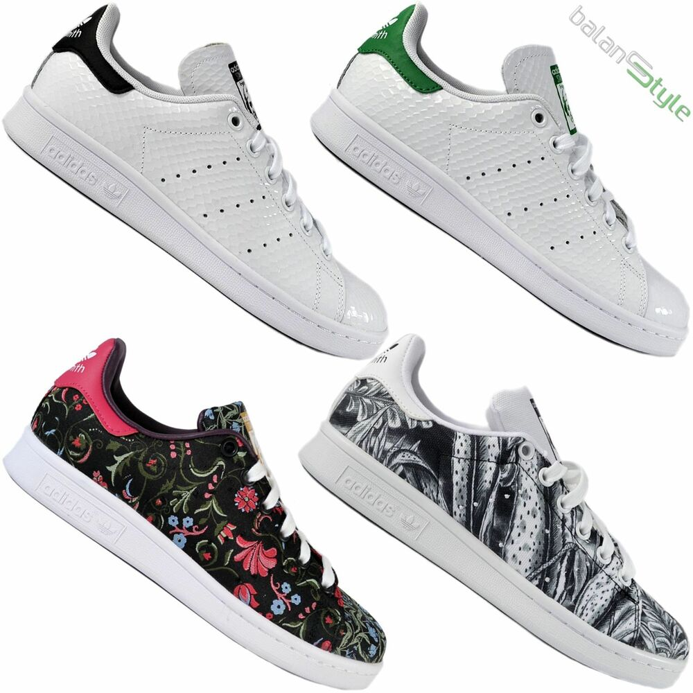 7daac1e8047 Details about Neuf Original Adidas Chaussures Femme Stan Smith W S77347  Braderie