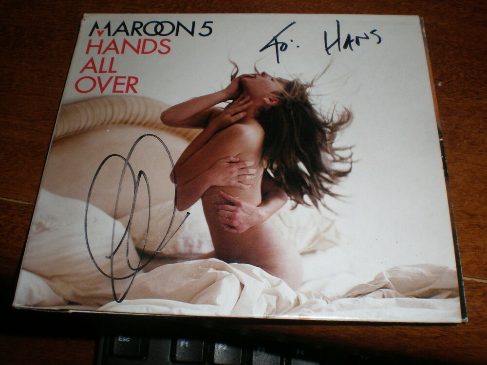 Maroon 5 CD Hands All Over AUTOGRAPHED ADAM LEVINE | eBay