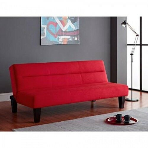 Microfiber Futon Sofa Couch Loveseat Living Room Furniture