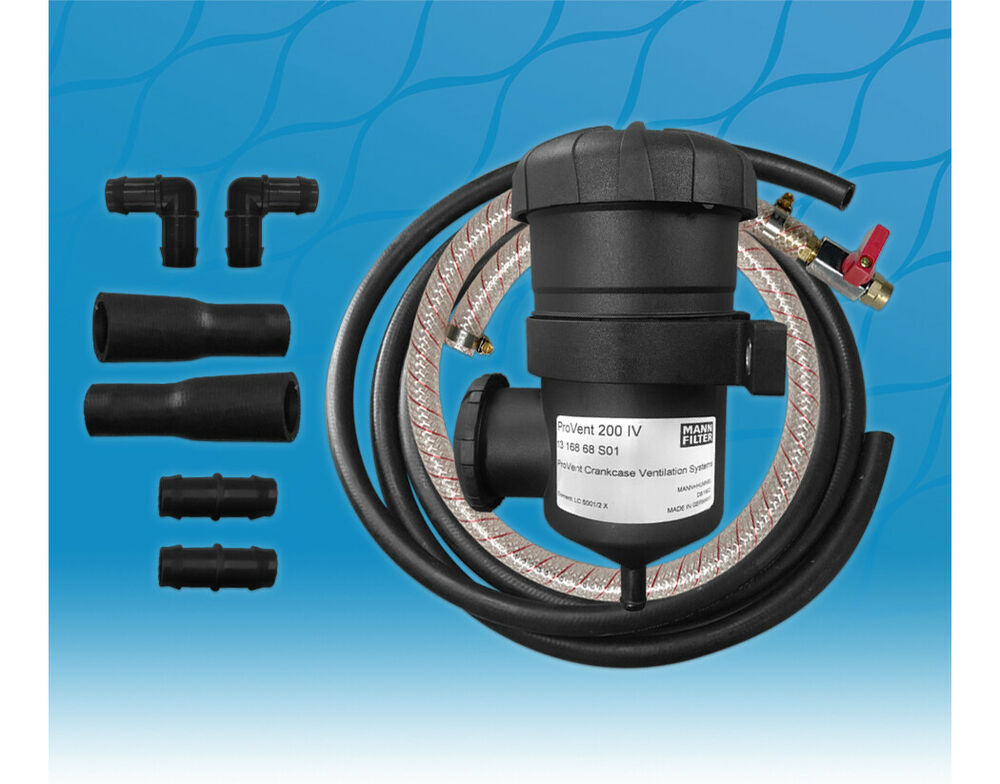 Provent 200 Oil Catch Can Kit 12mm  U0026 16mm For Nissan