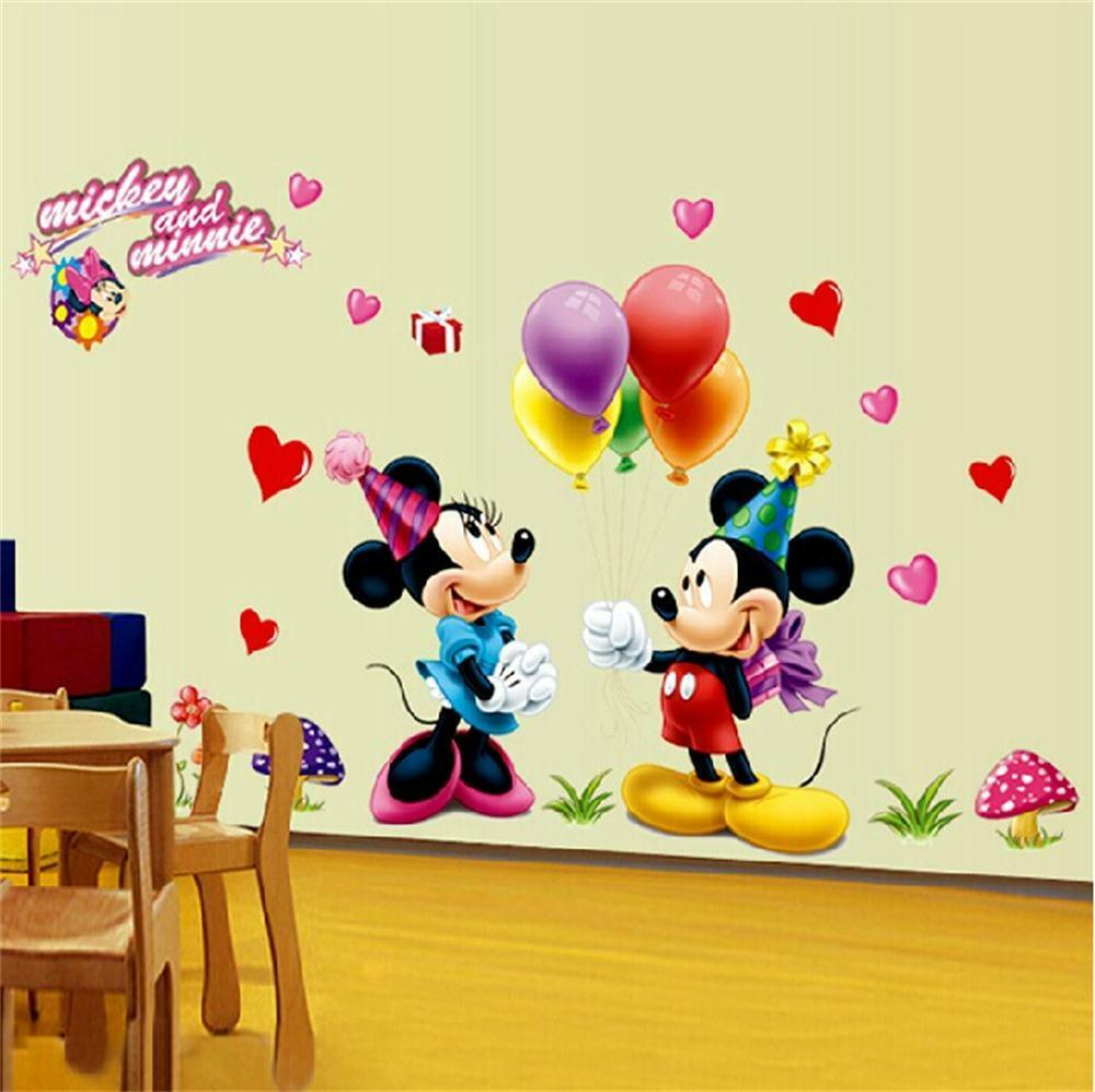 Mickey mouse wall decals for nursery ~ Color the walls of your house