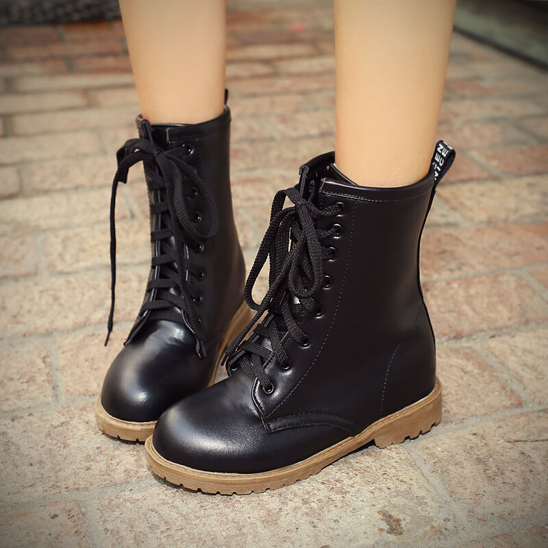 Cool  Womens Bara Brown Or Black Fashion Riding Motorcycle Boots  EBay