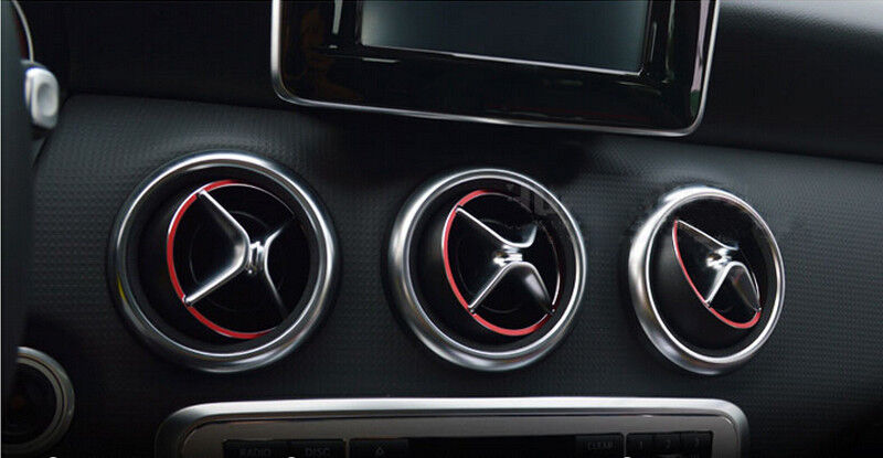 14 15 For Mercedes Benz Gla X156 Interior Accessories Trim Air Outlet Covers Red Ebay