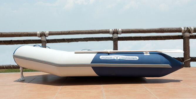 Aqua Marina Deluxe Inflatable Boat 3 M 10 Ft With