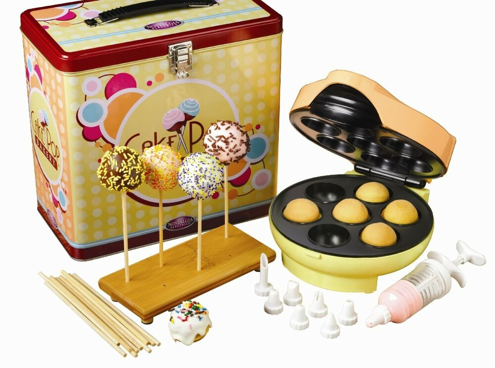 NOSTALGIA ELECTRICS CAKE POP BAKERY - JFD100KIT NEW eBay