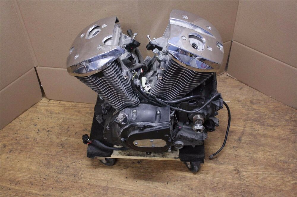 08 kawasaki vulcan vn 900 d complete engine motor stator. Black Bedroom Furniture Sets. Home Design Ideas