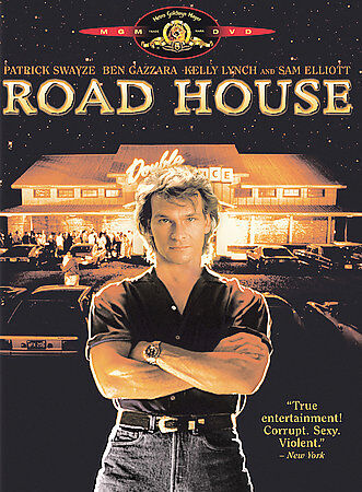 Road House - 1989 - DVD - Patrick Swayze, Kelly Lynch, Sam ...