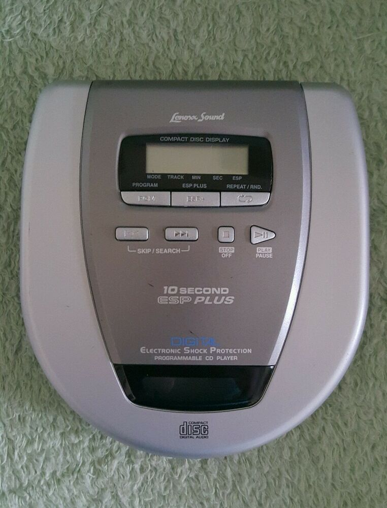 lenoxx sound compact disc player cd 79 ebay. Black Bedroom Furniture Sets. Home Design Ideas