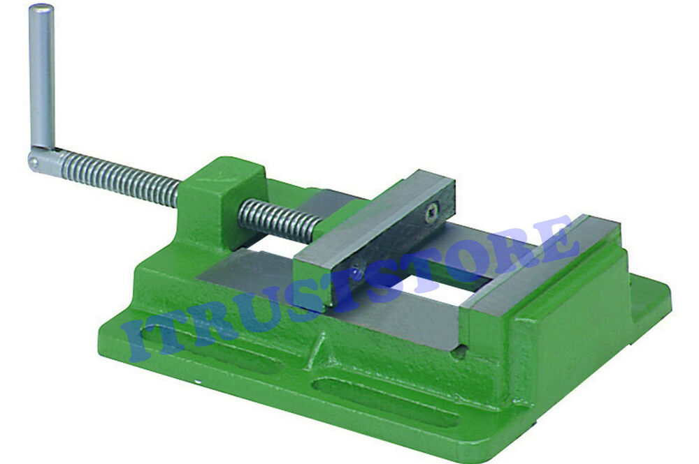 Quot inch flat metal steel machinist clamp vice work holder