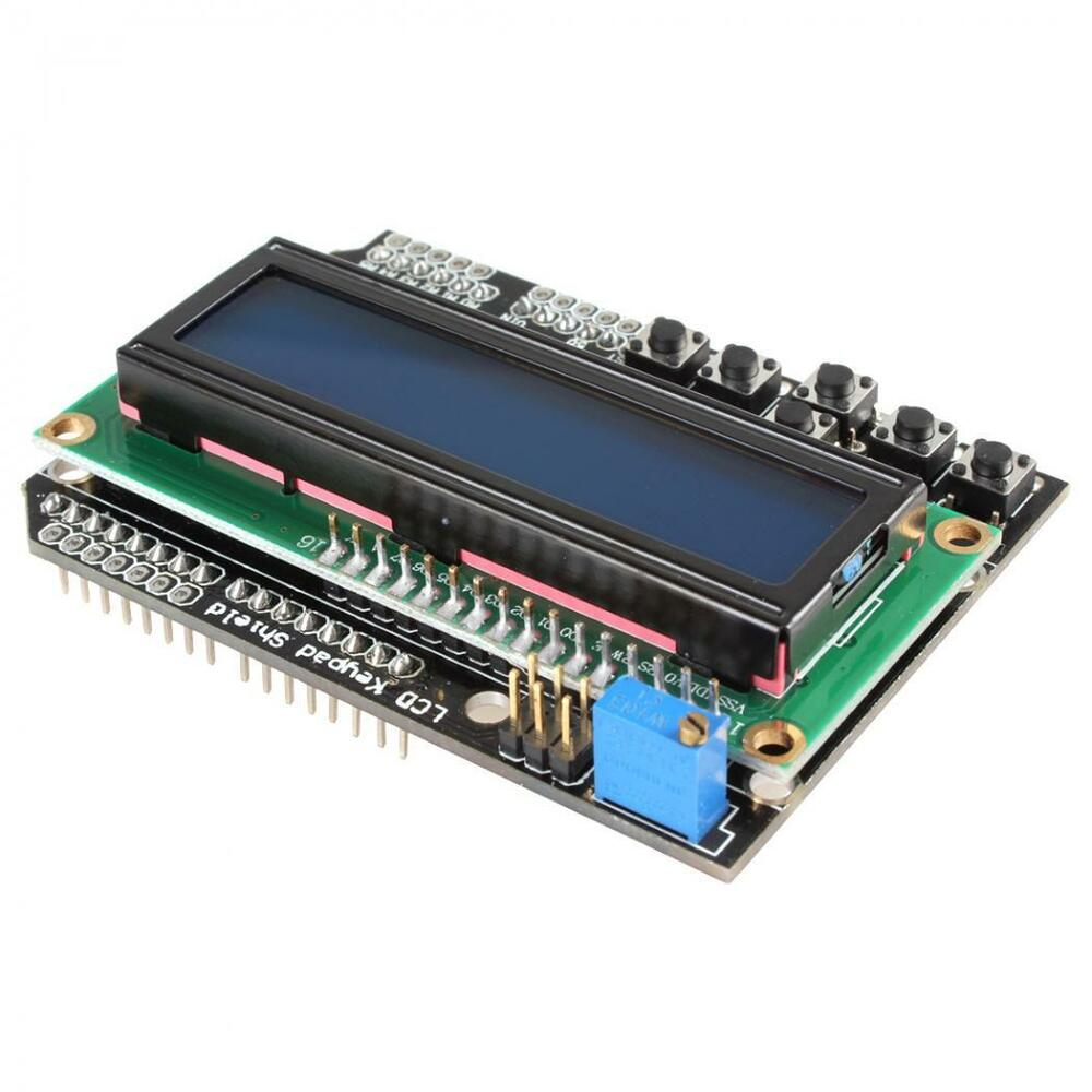 V lcd display board for arduino raspberry pi uno
