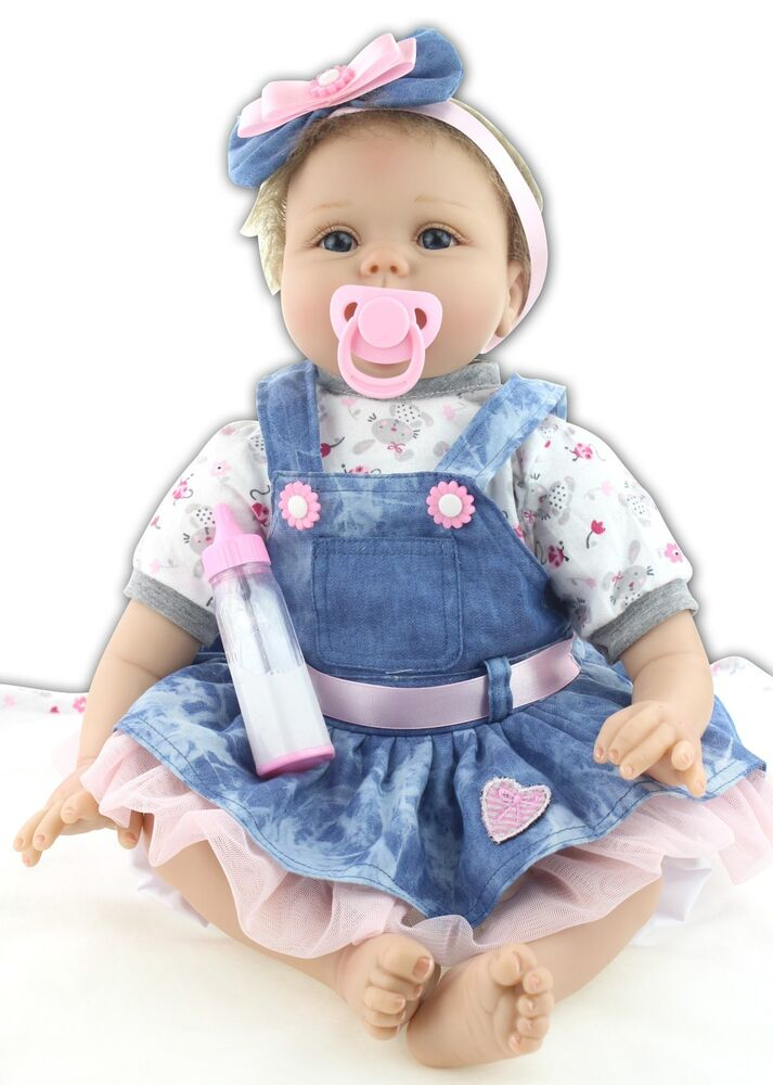 Newborn Baby Dolls That Look Real For Sale >> Handmade Real Looking Reborn Baby Dolls Vinyl Silicone Realistic Newborn Baby | eBay