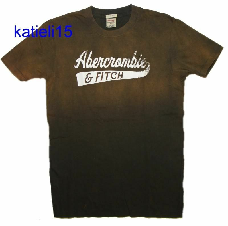 abercrombie fitch men 39 s vintage style muscle logo t shirt tee s ebay. Black Bedroom Furniture Sets. Home Design Ideas