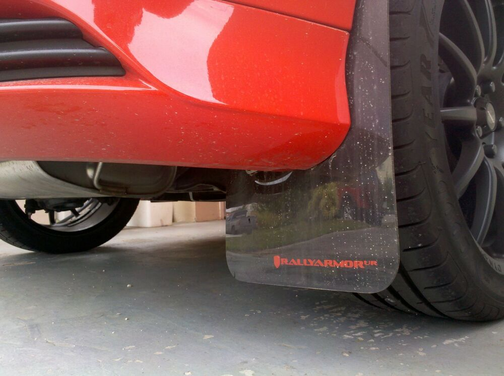 Rally Armor Mud Flaps Black W Grey Logo 2012 2017 Focus Se