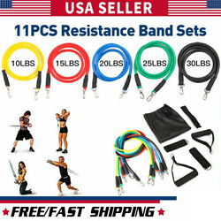 Kyпить HOGYME 11 PCS Resistance Bands Yoga Pilates Abs Exercise Fitness Tube Workout на еВаy.соm