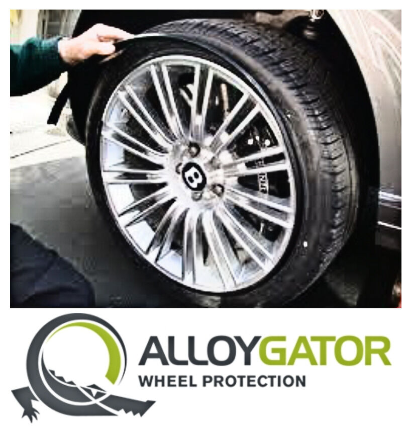 Tire Rim Guard >> Single AlloyGator Wheel Protector (only 1 gator) available in various colours | eBay