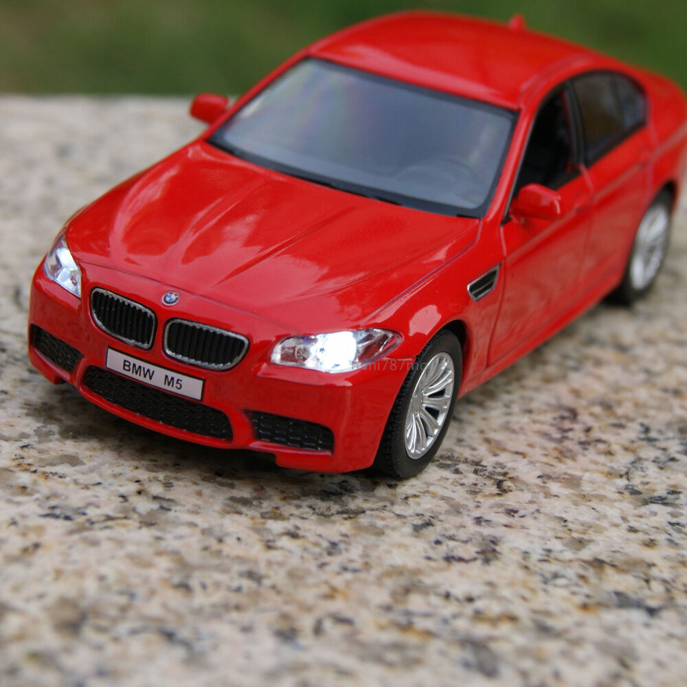 BMW M5 5 Inch Alloy Diecast Model Cars Toy Car Gifts Sound