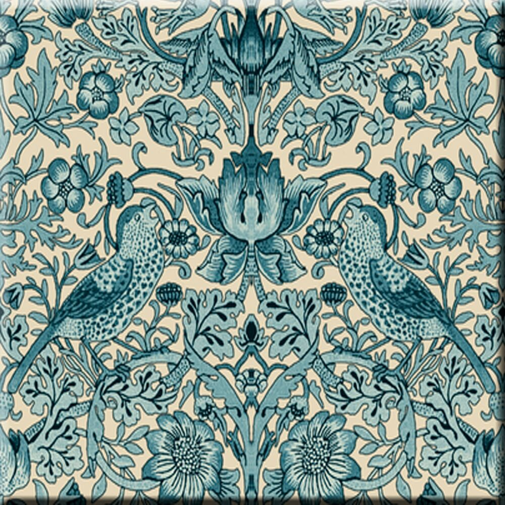 Ceramic Wall Tile 6 X 6 Inch William Morris Illustration