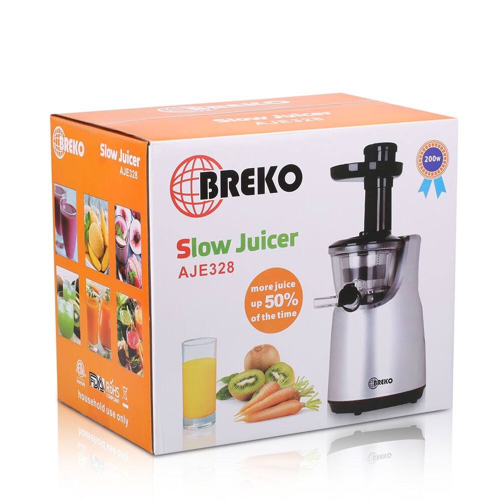 New Home Slow Juicer Masticating Double Edged Auger Fresh Juice Extractor Maker eBay