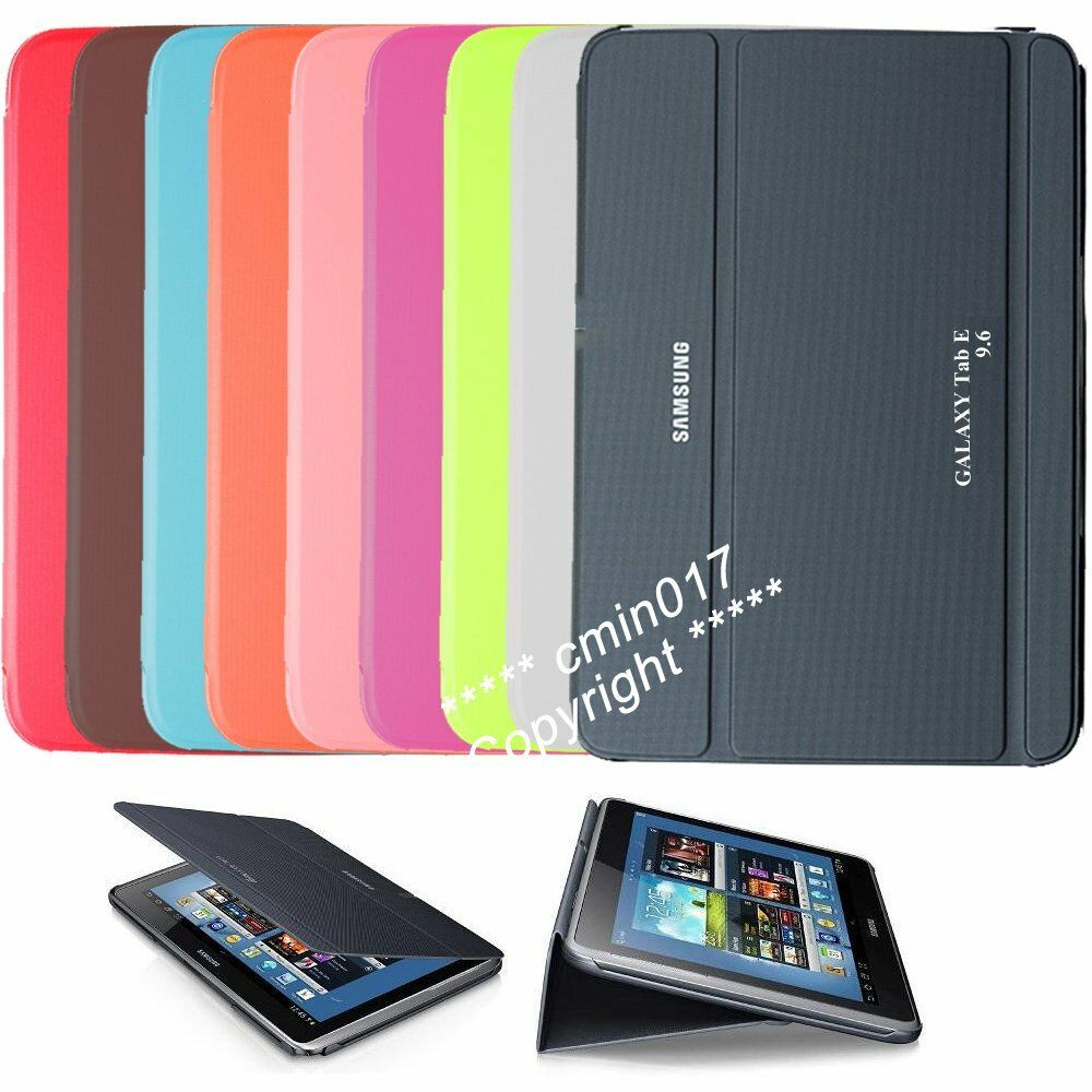 ultra slim case book cover for samsung galaxy tab e 9 6. Black Bedroom Furniture Sets. Home Design Ideas