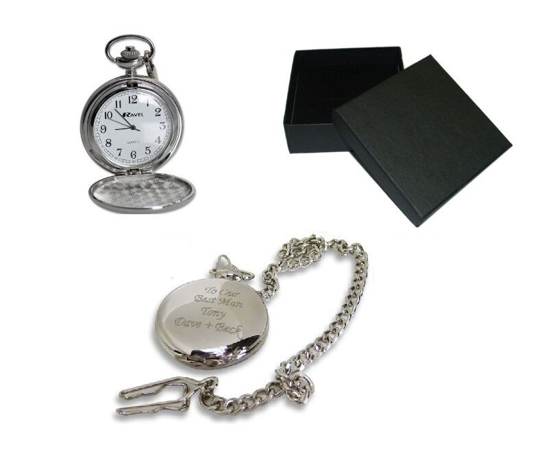 Wedding Gift Groom Watch : ... Father of the Groom Pocket Watch With Gift Box, Wedding eBay