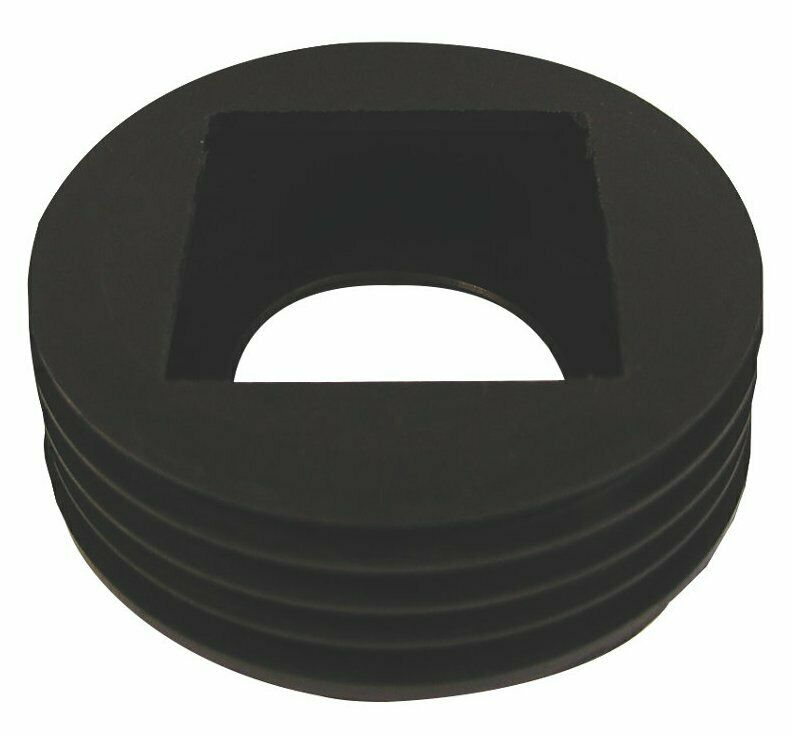Rubber Rainwater Pipe Adaptor To Drain Pipe For Square
