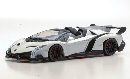 kyosho 1 43 lamborghini veneno roadster white 05572w brand new ebay. Black Bedroom Furniture Sets. Home Design Ideas