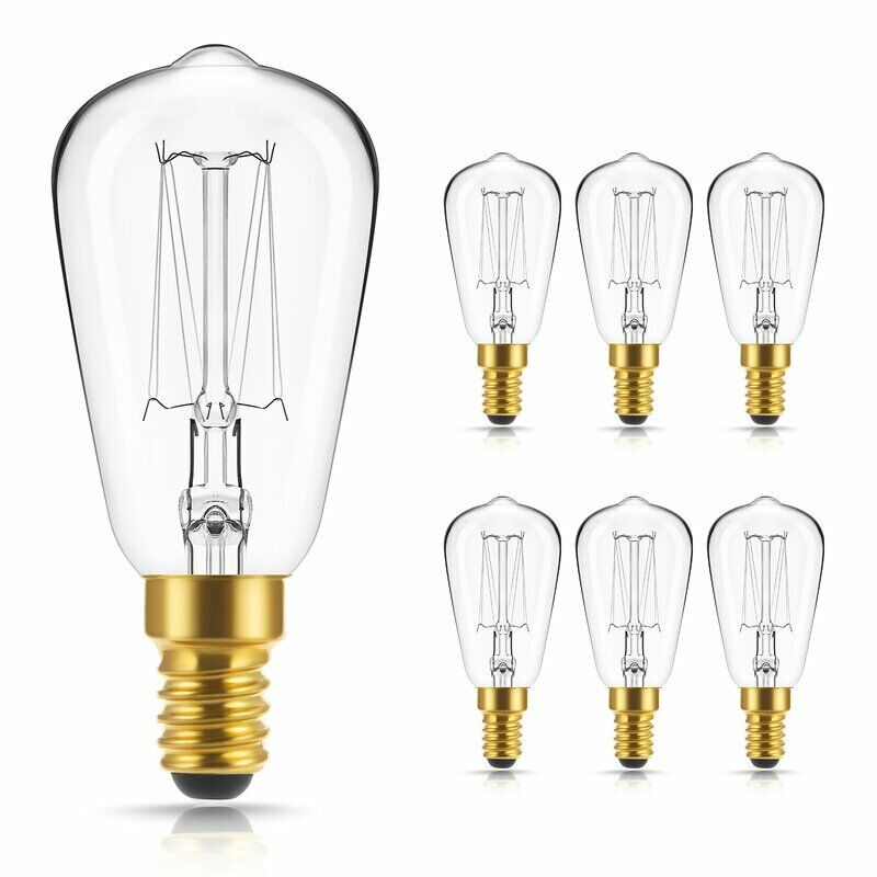 urbanest squirrel cage incandescent teardrop edison bulb. Black Bedroom Furniture Sets. Home Design Ideas