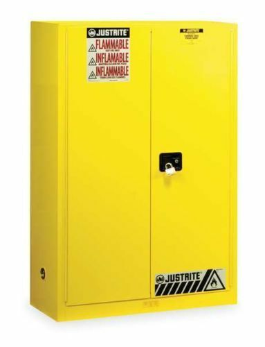 NEW JUSTRITE 894500 Flammable Safety Cabinet, 45 Gal ...