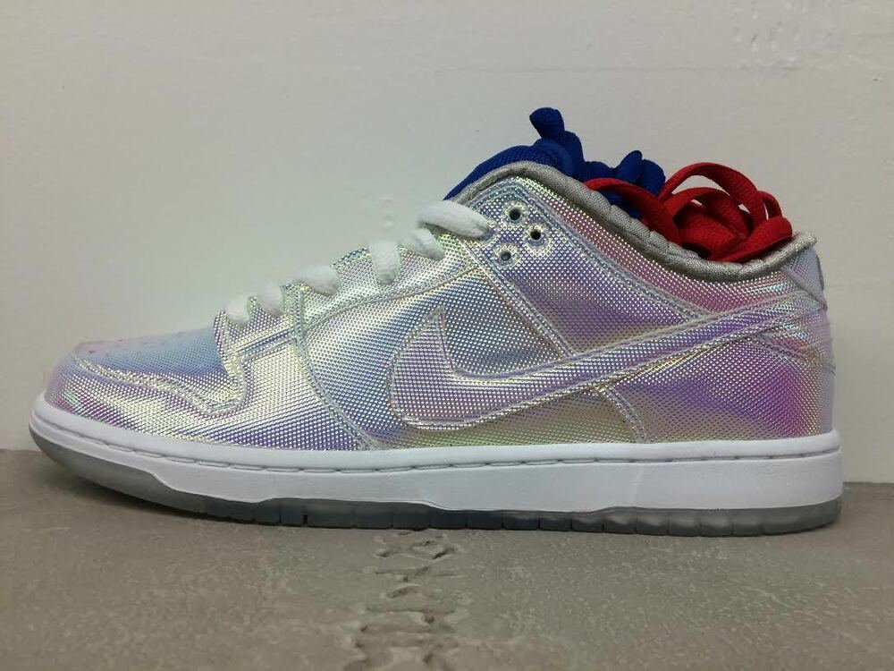 b8ade07d67dc Details about Cement Box Nike SB X Concepts Dunk Low pro Holy Grail 6-11  stained glass supreme