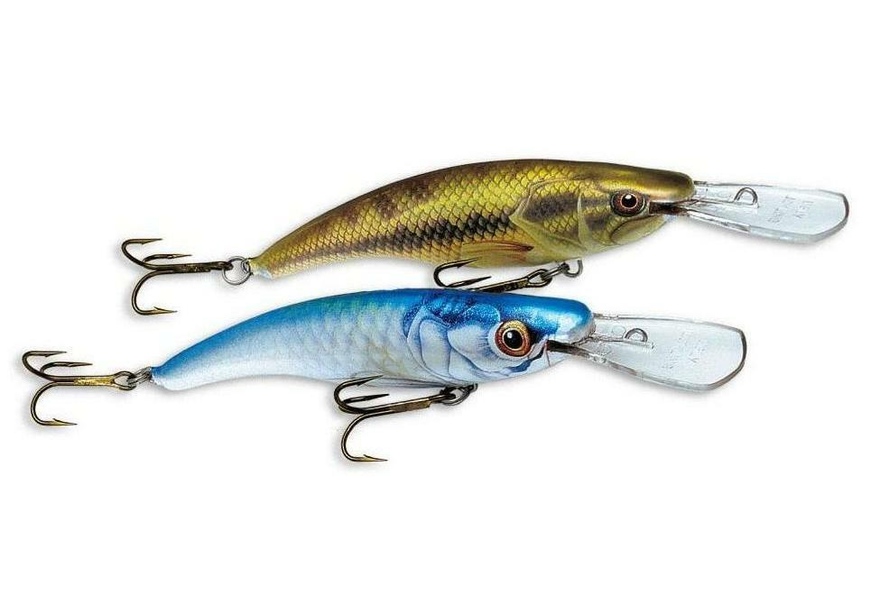 Ugly duckling lure muskie pike walleye bass striper for Striper fishing rigs